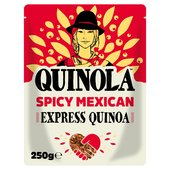 Quinola Spicy Mexican Organic Ready to Eat Quinoa