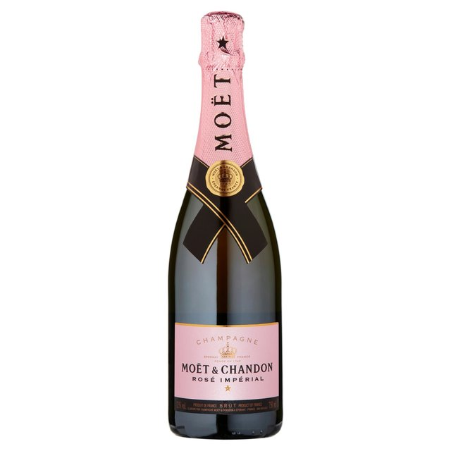 mo t chandon imp rial ros champagne gift box 75cl from ocado. Black Bedroom Furniture Sets. Home Design Ideas
