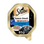 Sheba Sauce Lover Cat Tray with Tuna