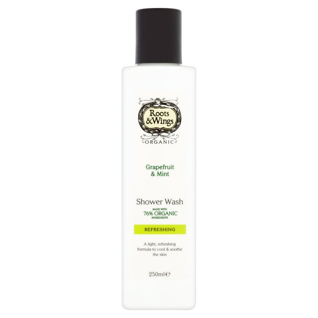 Roots & Wings Grapefruit & Mint Shower Wash
