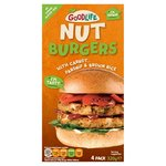GoodLife Sweet Carrot & Nut Burger Frozen