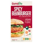 Goodlife Spicy Vegetable Bean Burger Frozen