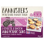 Bannisters' Farm Mini Cheese & Bacon Potato Bites
