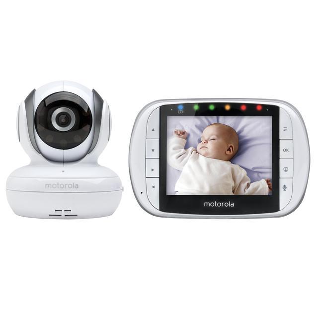 motorola mbp36s 3 5 video baby monitor from ocado. Black Bedroom Furniture Sets. Home Design Ideas