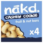 Nakd Cashew Cookie Multipack