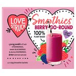Love Smoothies Raspberry, Blackberry & Strawberry Smoothie Mix Frozen
