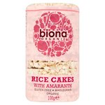 Biona Organic Rice Cakes With Amaranth