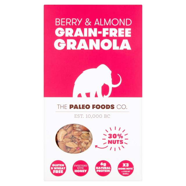 The Paleo Foods Co Berry Almond Grain Free Granola