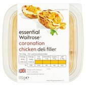 Essential Waitrose Coronation Chicken Deli Filler