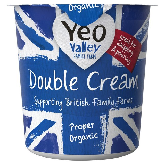 yeo valley organic double cream 227ml from ocado. Black Bedroom Furniture Sets. Home Design Ideas