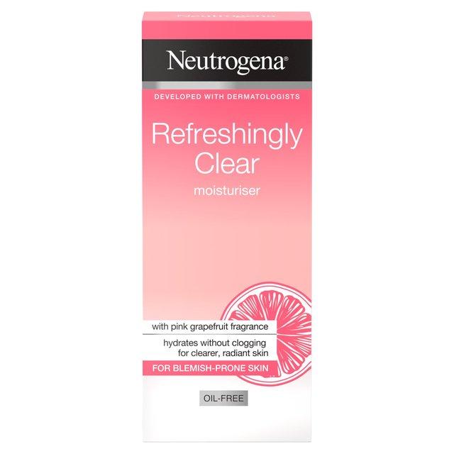 Neutrogena Visibly Clear Pink Grapefruit Oil Free Moisturiser 50ml