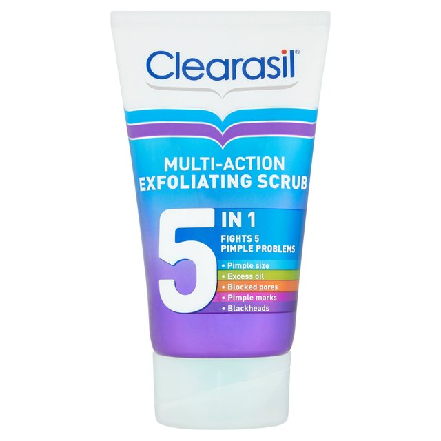 Clearasil Multi-Action Exfoliating Scrub 5 in 1