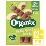 Organix Apple & Date Organic Fruit Snack Bar Multipack