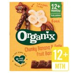 Organix Goodies Fruit Bar Banana & Date