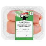 The Black Farmer Free Range Thigh Fillets Skinless & Boneless
