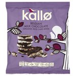 Kallo Organic Milk Chocolate Rice Cake Minis