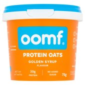 OOMF! Bench Pressed Oats, Golden Syrup