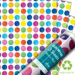 Painted Dots Gift Wrap Sheets