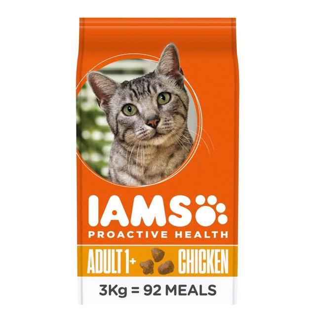 Iams Cat Food Recommended Amount