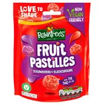 Rowntree's Fruit Pastilles Strawberry & Blackcurrant Sweets Sharing Bag