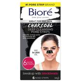 Biore Deep Cleansing Charcoal Pore Strips at Ocado
