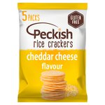 Peckish Cheese Rice Crackers 20g x