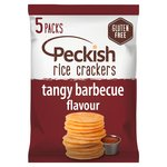 Peckish Tangy BBQ Rice Crackers