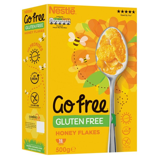 Nestle Gluten Free Honey Corn Flakes | Ocado