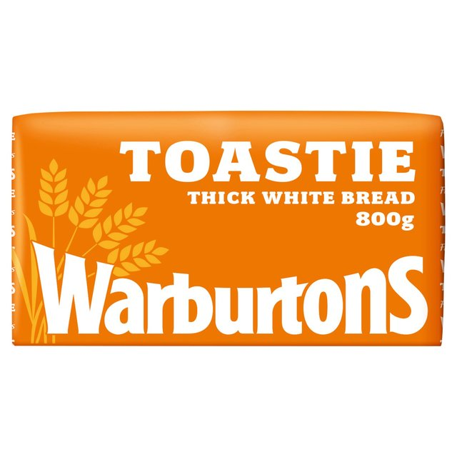Warburtons Toastie Thick Sliced White Bread