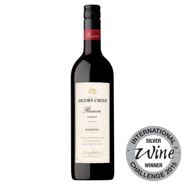 Jacob's Creek Reserve Adelaide Hills Barossa Shiraz