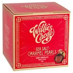 Willie's Cacao Dark Chocolate Sea Salt Caramel Black Pearls