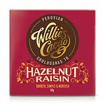 Willie's Cacao Dark Chocolate with Hazelnut & Raisin