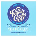 Willie's Cacao Milk Chocolate with Sea Salt Flakes