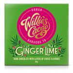 Willie's Cacao Dark Chocolate with Ginger Lime