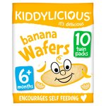 Kiddylicious Banana Wafers
