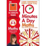 10 Minutes a Day Maths, Ages 3-5 Book