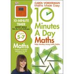 10 Minutes a Day Maths, Ages 5-7 Book