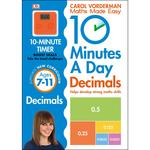 10 Minutes a Day Decimals, Ages 7-11