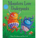 Monsters Love Underpants Book