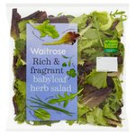 Waitrose Aromatic Babyleaf Herb Salad