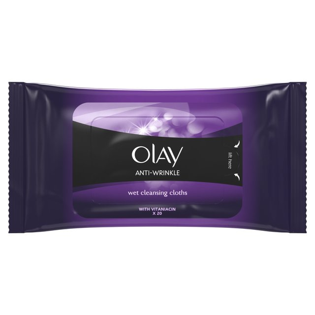 Olay Anti Wrinkle Firm & Lift Wet Cleansing Wipes