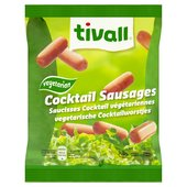 Tivall Vegetarian Cocktail Sausages Frozen