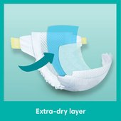 Pampers Baby Dry Nappies Size 4 Essential Pack