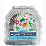 Reynolds 36 Staybrite Muffin Cases Whimsical Pattern B