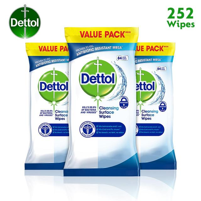 Dettol Anti Bacterial Cleansing Wipes | Ocado
