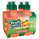 Robinsons Fruit Shoot Peach & Mango No Added Sugar