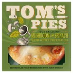 Tom's Pies Mushroom & Spinach with White Truffle Oil Pie