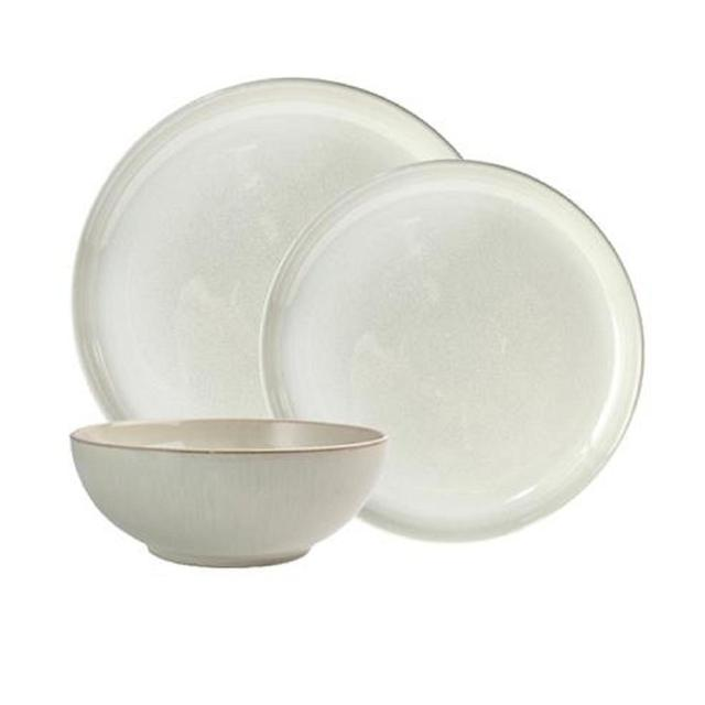 Denby Linen Stoneware 12 piece Dinner Set  sc 1 st  Ocado & Denby Linen Stoneware 12 piece Dinner Set from Ocado