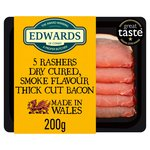 Edwards of Conwy Dry Cured Smokey Bacon