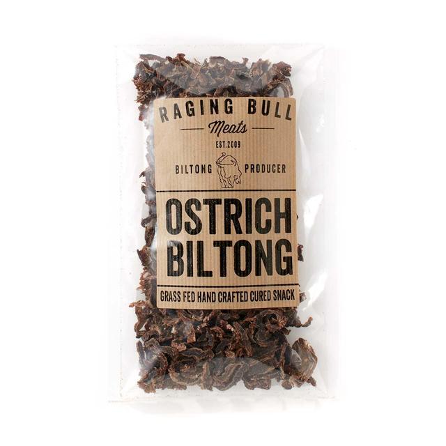 Raging Bull Meats Ostrich Biltong - Minimum spend £40